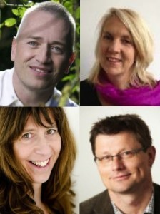 Jaap Boonstra, Hans Vermaak, Kilian Bennebroek, Yvonne Burger